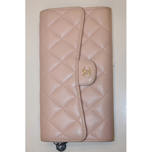 10 - CHANEL WALLET - LONG BI-FOLD WALLET - RRP £1,350  CONDITION RATING - A...