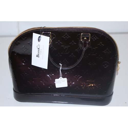 52 - LOUIS VUITTON HANDBAG - ALMA - RRP £5,000  CONDITION RATING - AA...