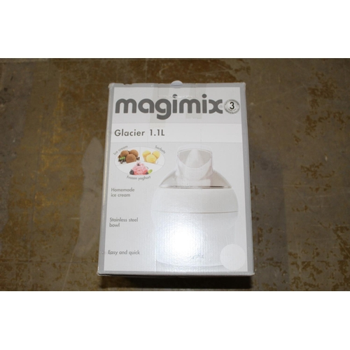 0C - 1X BOXED MAGIMIX GLACIER 1.1L IN WHITE...