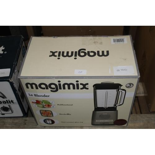 0P - 1X BOXED MAGIMIX LE BLENDER RRP £170...