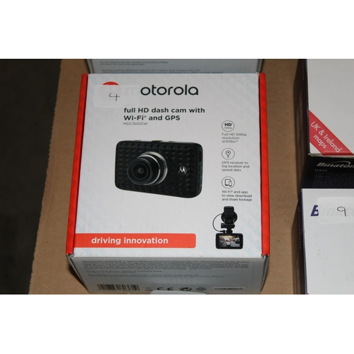 4 - 1 X BOXED MOTOROLA FULL HD/CAM WITH WIFI AND GPS RRP �80.00...