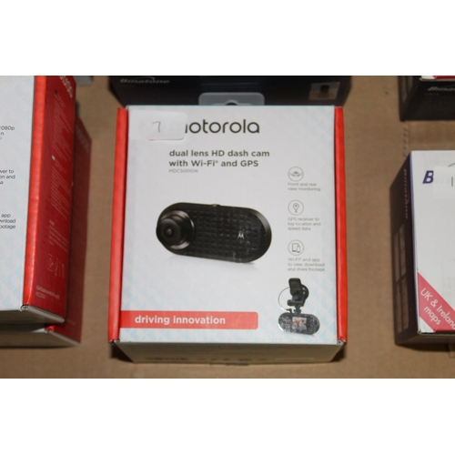 7 - 1 X BOXED MOTOROLA FULL HD/CAM WITH WIFI AND GPS RRP �80.00...