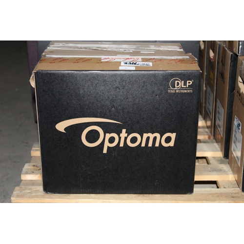 13 - 1X BOXED OPTIMA HD134X FULL HD, 1080P PROJECTOR SYSTEM COMPLETE WITH BUILT IN SPEAKER SYSTEM RRP £49...