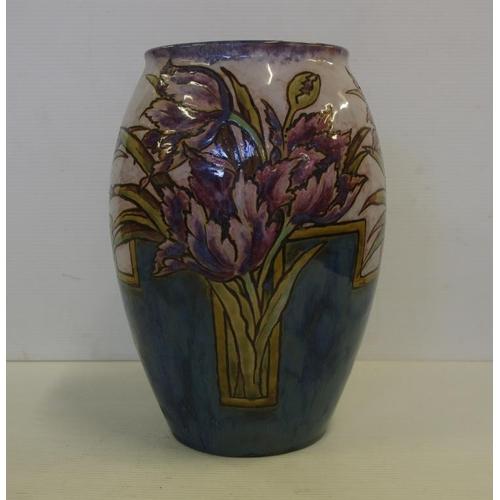 Royal Doulton Stoneware Eliza Simmons Vase With Impressed Artists