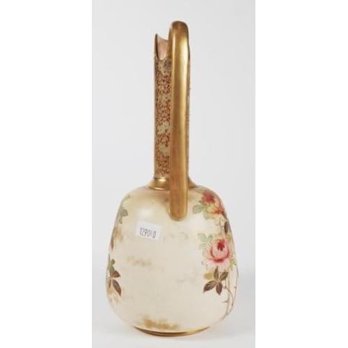 1037 - Doulton Burslem jug vase 24cm high approx., staining...