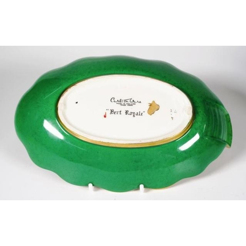 1092 - Carltonware Vert Royale bird dish width 21.5cm approx...