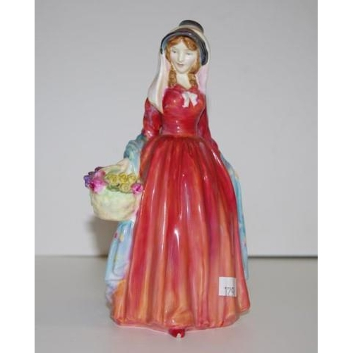 1137 - Royal Doulton lady figurine Rosemary HN2091, 18cm high approx....