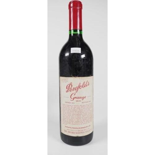 1378 - One bottle of Penfolds Grange Hermitage 1991 750ml...