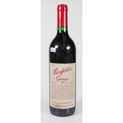 1381 - One bottle of Penfolds Grange Hermitage 1999 bottle no: 021379, 750ml...