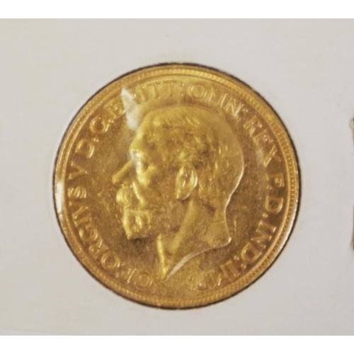 427 - Australian 1931 Perth Mint sovereign uncirculated condition, (Australia's last issue sovereign)....