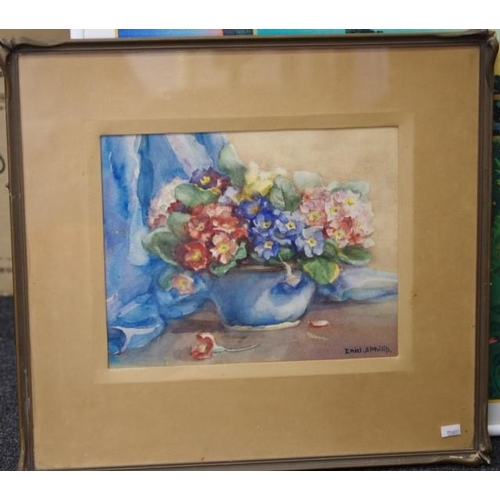 474 - Enid A. Philip (1898-1984) Still Life watercolour, signed lower right. (23cm X 29cm approx)....