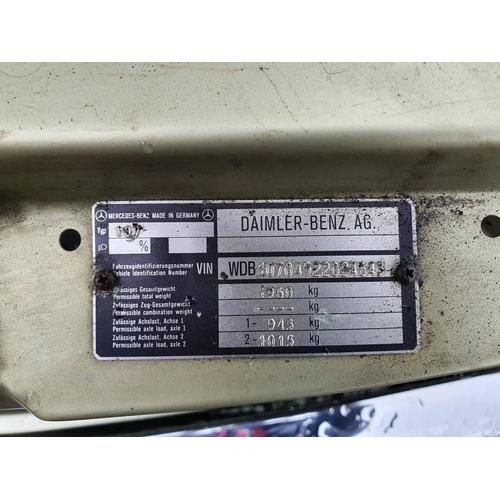 1012 - 1983 Mercedes Benz 380 SL R107, 3839cc. Registration number TDA 404Y. Chassis number 107 04522024643...