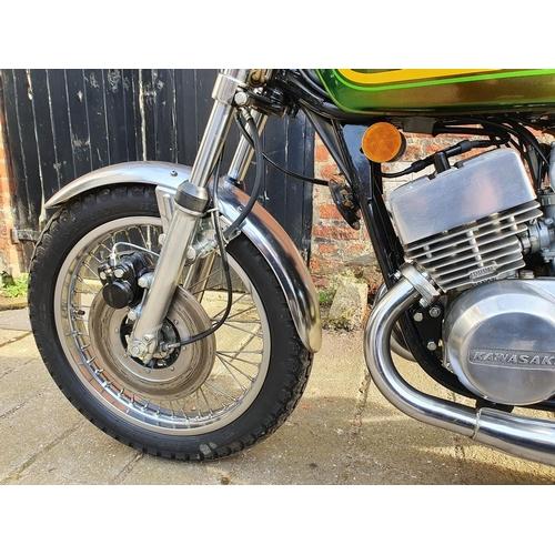 1042 - 1976 Kawasaki KH 400, 400 cc. Registration number OBA 596P. Frame number S3F32169. Engine number S3E...