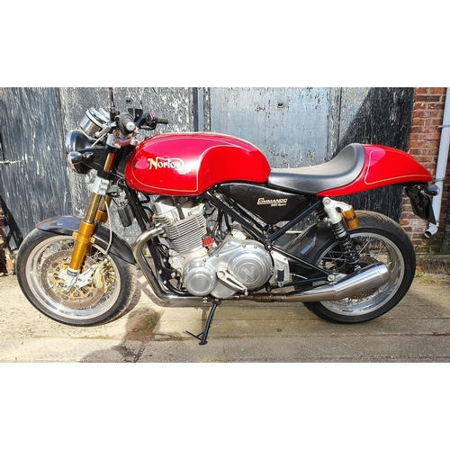 1055 - 2011 Norton Commando 961 Sport, 961 cc. Registration number KJ51 COM. Frame number SAYCMM01SAY000213...