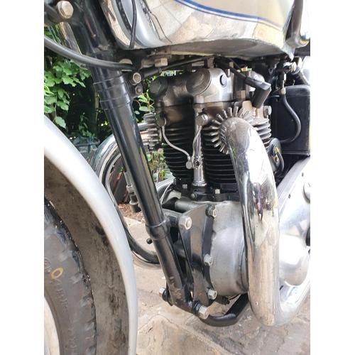 1061 - 1938 Triumph Tiger 100, 500 cc. (see text). Registration number EYV 687. Frame number TH 6362. Engin...