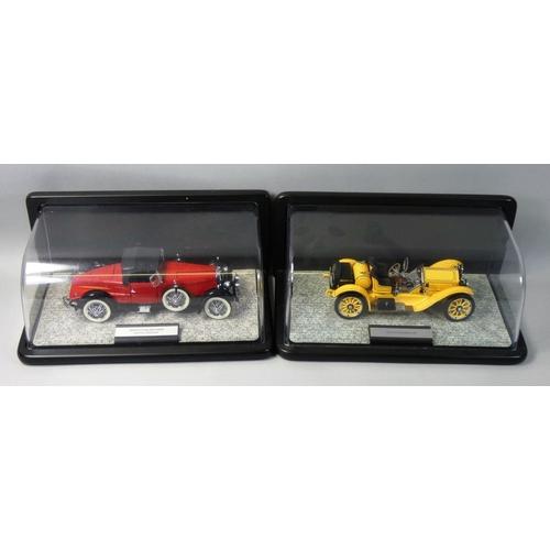 6 - Franklin Mint precision models, 1:24 scale 1928 Stutz Black Hawk Boattail Speedster, together with a...