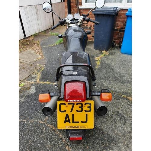 1022 - 1986 Honda XBR 500, 498 cc. Registration number C773 ALJ. Frame number PC15 710092. Engine number PC...