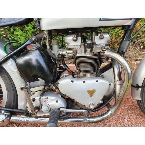 1106 - 1951 Triumph TR5 Trophy, 499cc. Registration number PPB 916, Frame number 5491 NA. Engine number TR5...