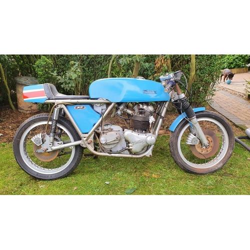 1163 - 1971 Rickman Metisse Commando 750cc. Registration number not registered with DVLA. Frame number 34. ...