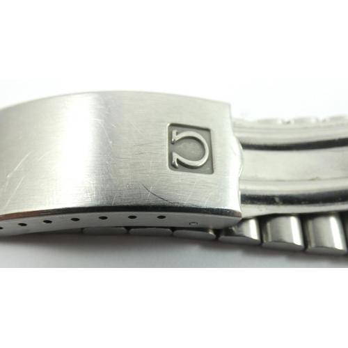 176 - Omega Speedmaster Professional Mark II chronograph stainless steel wristwatch, c.1969, ref 145.014, ...
