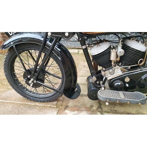 3001 - 1930 AJS Model S2, 996 cc. Registration number DS 9578 (non-transferrable, originally PO 3338). Fram...