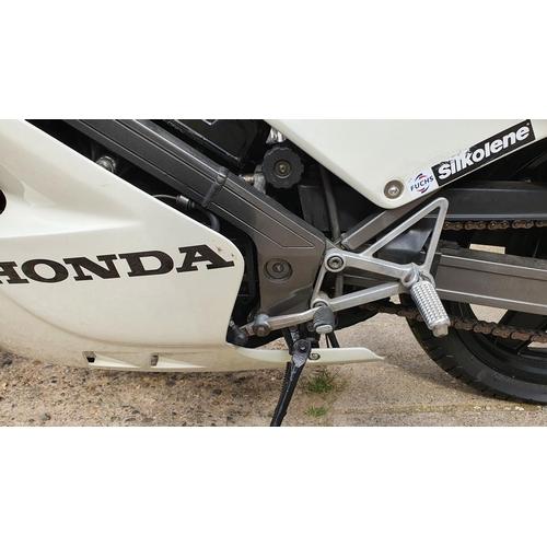 3004 - 1987 Honda VFR400R, 399 cc. Registration number D228 CHG. Frame number NC21-1015119. Engine number u...