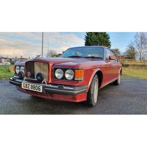 303 - 1989 Bentley Mulsanne S, 6,750cc. Registration number GBZ8806. Chassis number SCBZS00A3KCH26811. Eng...