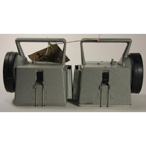 174 - Two Bardic handlamps