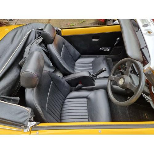 520 - 1979 Triumph Spitfire 1500, 1493cc. Registration number GED 830V. Chassis number FH 133903. Engine n...