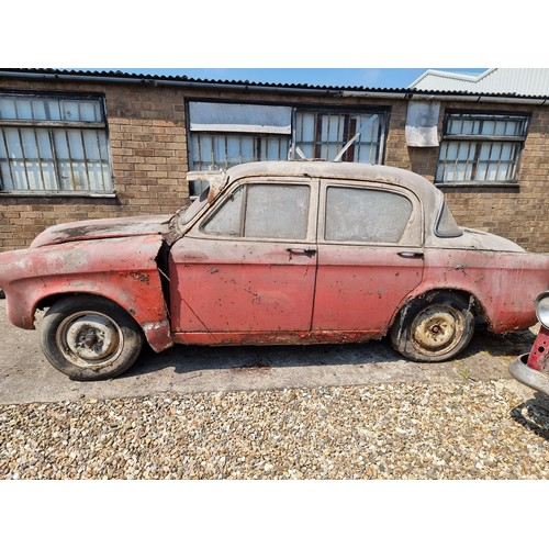 501 - 1958 Hillman Minx Series II Project, 1390cc. Registration number HXG 46. Chassis number A1821010H. E...