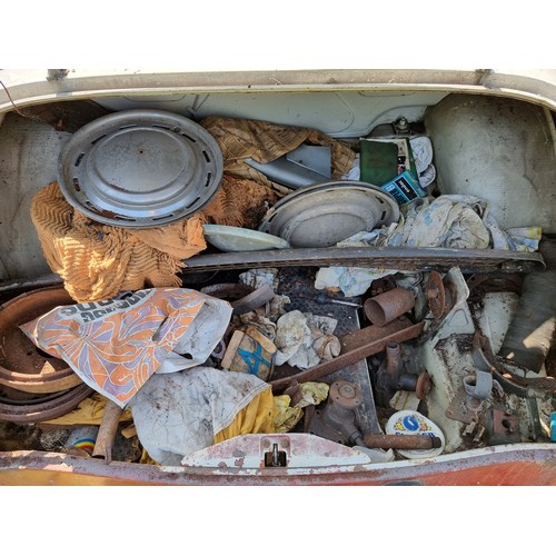 500 - 1959 Hillman Minx Series IIIA Project, 1494cc. Registration number XWF 26. Chassis number A1950243. ...