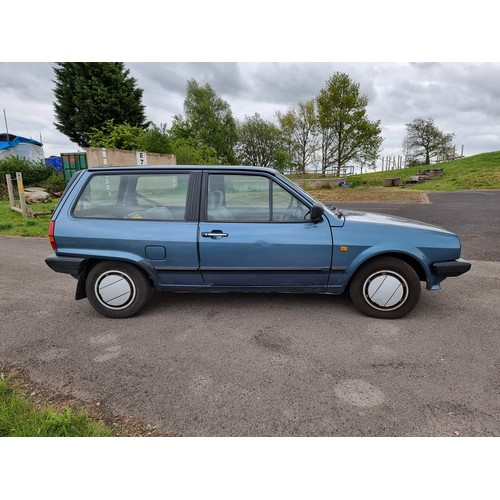 510 - 1989 VW Polo Mk2, 1272cc. Registration number G775 MKH. Chassis number WVWZZZ80ZKW168973. Engine num...