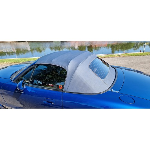 513 - 1999 Mazda MX5 10th Anniversary, 1800cc. Registration number T10AEX. Chassis number JMZNB18P60012986...
