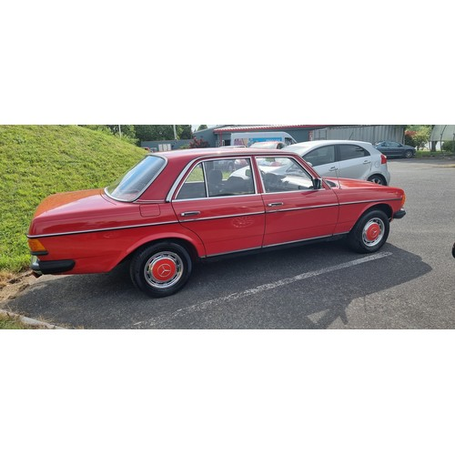 502 - C.1980 Mercedes Benz W123, 240D, 2400cc. Registration number unregistered. Chassis number WDB1231231...
