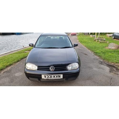 518 - 1999 VW Golf GTi 20v Turbo, 1781cc. Registration number V331 KVN. Chassis number WVWZZZ1JZYP168132. ...
