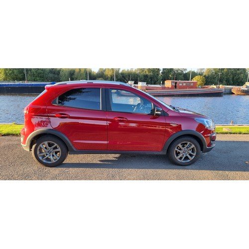 1 - 2019 Ford KA+ Active, 1.2 VCTI 85PS. Registration number YW19 FCL. Chassis number MAJUXXMTKUKC59049....