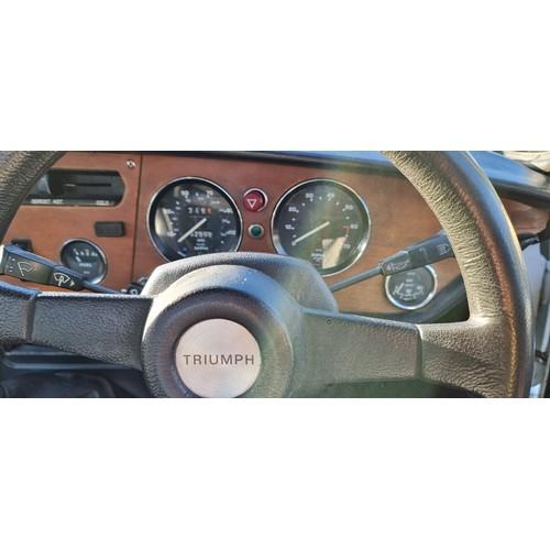 506 - 1979 Triumph Spitfire 1500, 1493cc. Registration number FDJ 58V. Chassis number FH 134575. Engine nu...