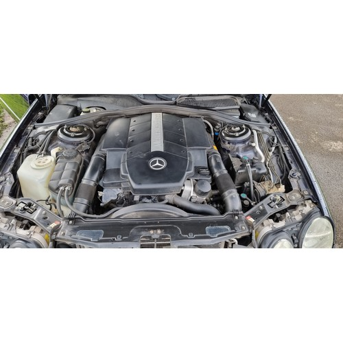 507 - 2003 Mercedes Benz CL500 automatic, 4966cc. Registration number KF03 WRA. Chassis number WDB2153752A...
