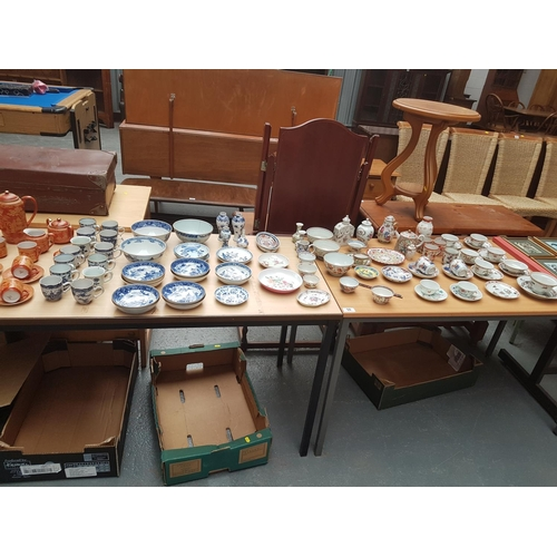 50 - Large quantity of oriental ware...