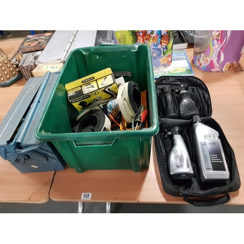 Selection Of Tools Bmw Car Cleaning Kit Etc