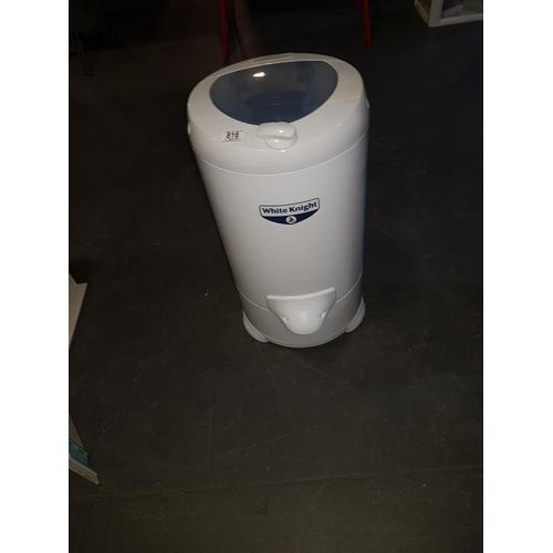 816 - White knight spin dryer...