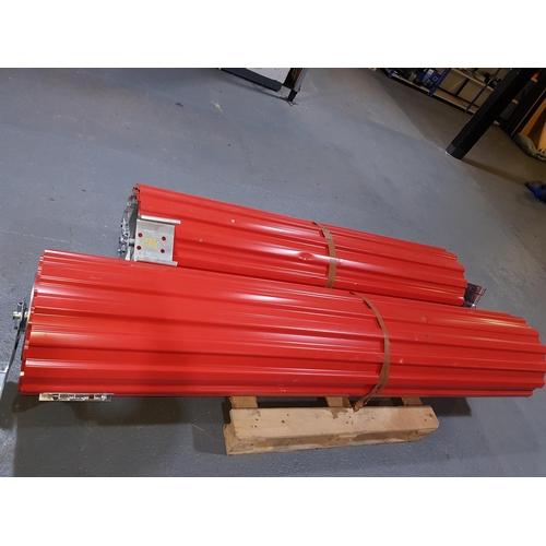 856 - Two roller shutter doors...
