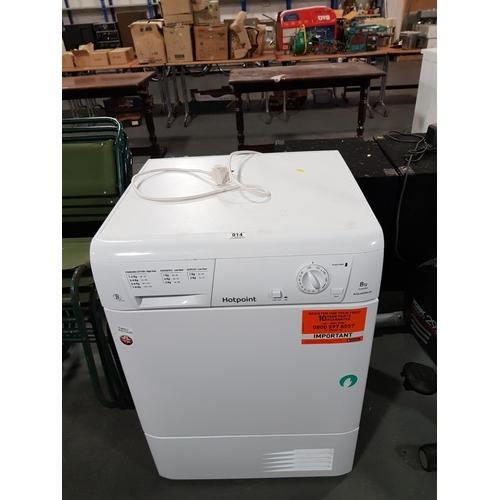 914 - Hotpoint condenser dryer...