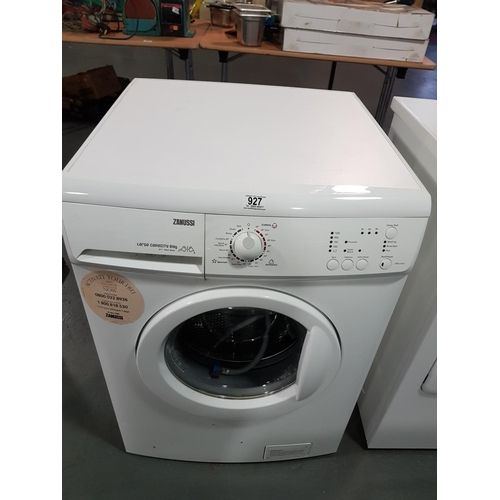 927 - Zanussi washing machine...