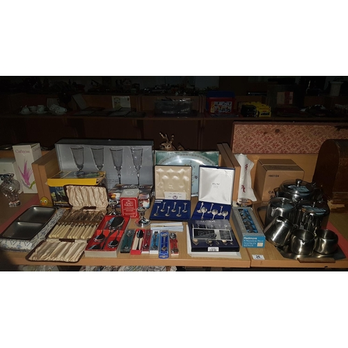 26 - Quantity of mixed items including stainless steel, collectors spoons etc....