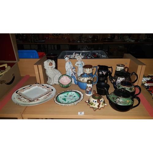 57 - Quantity of miscellaneous china...