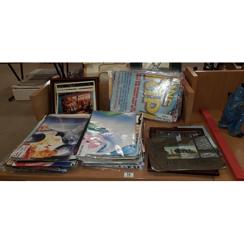 14 - Quantity of movie posters, lobby cards etc....