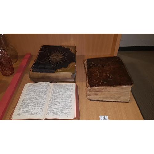 26 - Welsh bibles...