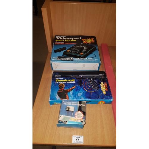 27 - Prinztronic Videosport TV game...