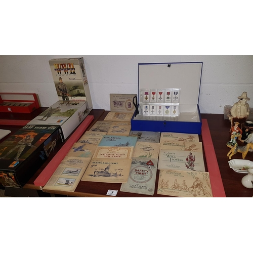 9 - Cigarette cards and albums...